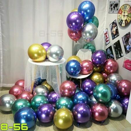 Латексные шары, 50 шт