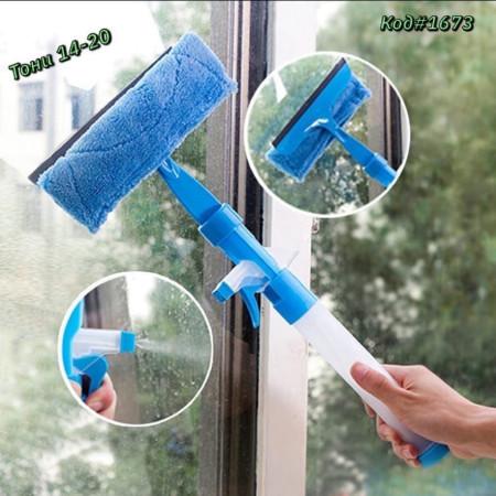Распылительная щетка для очистки стекла