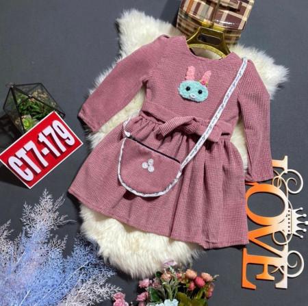 Платье (с сумкой)